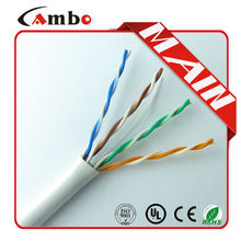 OEM Order utp cabo cat.4 305M/Roll 4P 24AWG 0.511mm UTP Cat 5 Cable Best Price China Made For High quality Cable Cat5e