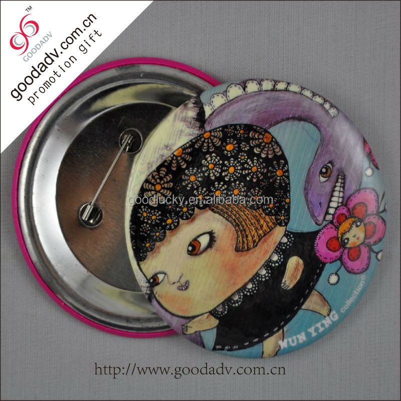 tin badge 15
