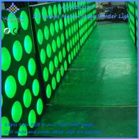 New Style Matrix 5*5 Tri 10W RGB Sound Active DJ Equipment COB blinder background Light