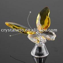 Recordatorio de bodas de mariposa de cristal