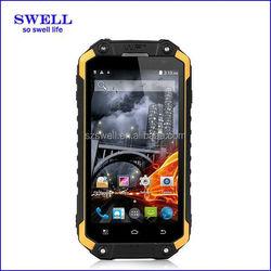 4.7inch MTK quad core dual sim outdoor smartphone IP67 waterproof supports wireless chagring walike talkie XJD X8