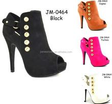 Ladies elegant high heel cheap factory price women shoes wholesale 2015 cheap wholesale italian women shoes (JM-0464)