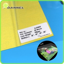 """36"""" 150gsm 6oz manufacture photos white glue glossy or PVC laminating roll film"""