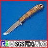 Most Popular Fixed Blade Burl wood Handle OEM Damascus Knife