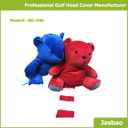 New Designed Golf Club Head Cover In Cute Animal Figure With High Quality