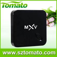 Cheapest Amlogic S805 Quad Core MXV HD 1080P Sex Porn RJ45 Kodi WIFI 3D Android 4.4 MXV Smart TV Box