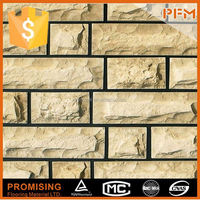 natural slate stacked stone slate wall corner protection