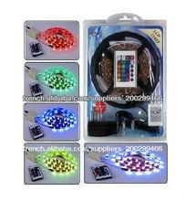 Explosive price Blister kit RGB led strip set with 5050 led