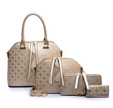 2015 new fashion 4 pcs in 1 set bags