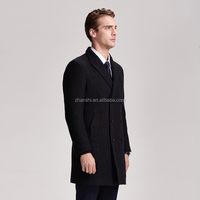Super quality OEM winter warm wool blazer coats for men