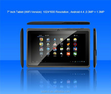 High quality !!!512MB/4G HD 1024*600 capacitive 7 inch tablet pc wifi bluetooth price China