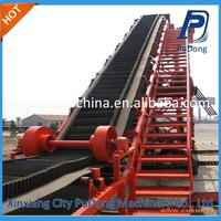 China factory price high inclination angle belt conveyor
