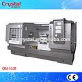 fiable y de alta calidad durable de metal utilizado para trabajo pesado torno de la máquina ck6163e