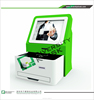 cheap all in one pc touch screen desktop kiosk/account information access countertop kiosk