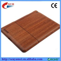 2015 Natural Protect Bamboo Wood Case For iPad 2 3 4 5 and Mini