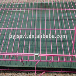 PVC Coated Dog Cage , Metal Dog Kennel , China Factory Dog Cage