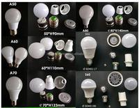 3W 5W 7W 9W 12 watt SKD/CKD LED bulb lamp spare parts for assembling