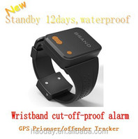 mini ankle bracelet Watch GPS tracker MT-60X for prisoner, belt off alarm and real time web app monitoring software MT60X