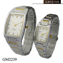 New product unisex 3 atm quartz stainless steel back watch