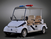 Hot sale 4 seats Electric crusier golf cart sightseeing bus with CE certificate