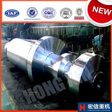 Custom large steel forging/casting marine shaft