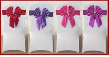 hot sale chair sash for wedding and banquet,cheap satin chair sashes wedding chair cover at factory price