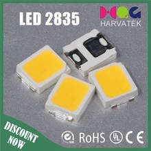Free samples 0.2w warm white 2835 smd led epistar chip specifications attched