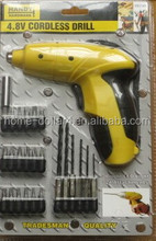 MORE EFFECTIVE THAN MECHANICAL ACCESSORIES/EASY-USE HAND TOOLS FOR CONVENIENCE/AUTOMATIC SCREWDRIVER WITH ACCESSORIES