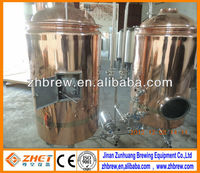 100L hotel red copper beer brewery equipment