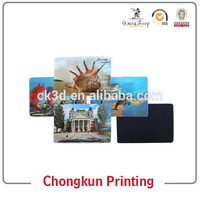 Hot Sell Manufacture High Quality Customized Promotional 3d lenticular printing paper fridge magnet