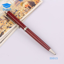 Promotional eco-friendly custom wooden material wood ball pen wholesale