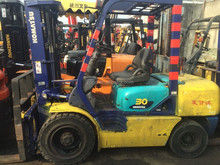 3 masts toyota forklift for sale best price for forklifts in shanghai Toyota FD30-16