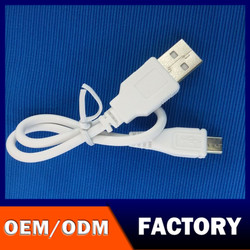 China factory 30 cm usb cable with best quality/30cm mobile phone power bank cable/Micro Usb/V8 Wire 30cm Cable