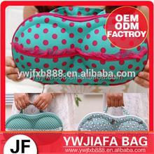 Fashion travel bags for underwear lingerie eva bra case