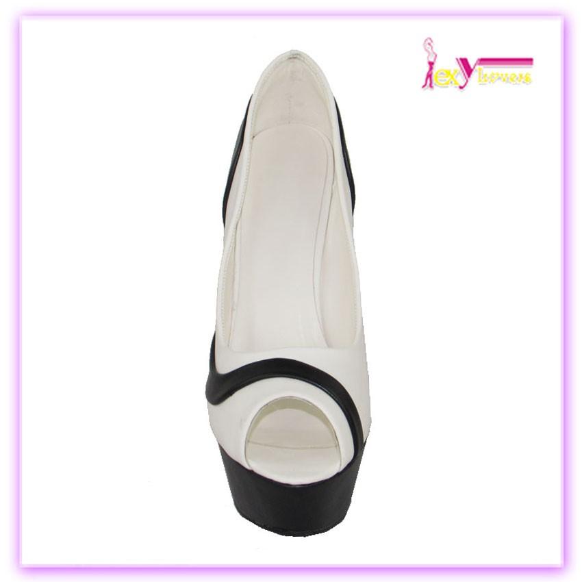 Dames à bout ouvert plate - forme chaussures femmes talons hauts sandales sexy lady sandales alibaba vente chaude