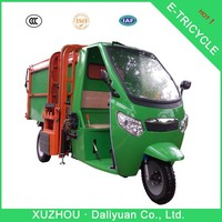electric garbage 3 spoke bicycle wheel 3 wheel cargo tricycle
