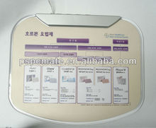 2012 newest hot sale arrival mouse pad/low price mouse pad/promotional mouse pad