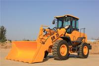 Construction machine 3 ton loader ZL30 same as SDLG, XGMA, FOTON LOVOL( D eutz engine, joystick, quick hitch)