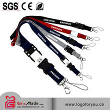 full color printed japanese lanyard strap attachment