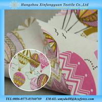 stock cheap print cotton poplin baby fabric with 100% cotton
