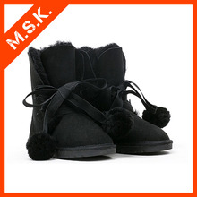 Quality security fashion special design your own waterproof sexy women snow boots