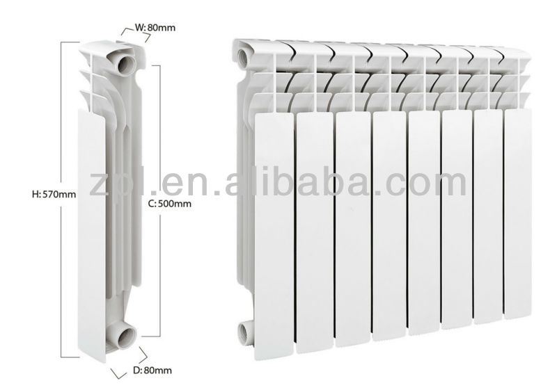 radiateur fonte aluminium chauffage central chauffage. Black Bedroom Furniture Sets. Home Design Ideas