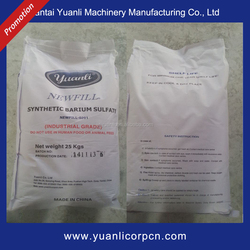 Industrial Grade Precipitated Barium Sulfate Price For Coating