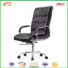 high back executive pu leather swivel office chair real leather office chair waist surpport footrest