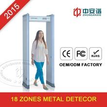 Portable Arch Way Arco Door Frame Walk Through Metal Detector