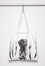 Langley Fox Beach Graphic Tote Bag Eco-friendly Canvas Tote bag