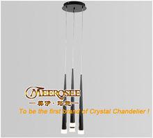 Simplicity Long Steel Pendant Lamp MD8608