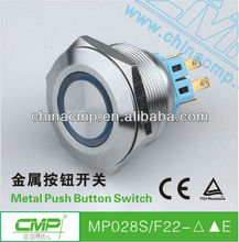 MP28SF22E 2 step push button switch , wealth metal switch, pushbutton switch cover