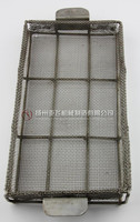 Wire Basket with Supporting Rod and Handle Holder
