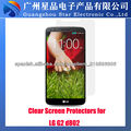 Protector de pantalla de fuente de la fábrica de teléfonos móviles para LG G2 D802/D802TA/D803.